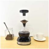【お手軽グッズ】火を使わない電気式サイフォンコーヒーメーカー「おうち純喫茶」香り高く目で楽しめるサイフォン式コーヒー。 気軽にはじめてみませんか。